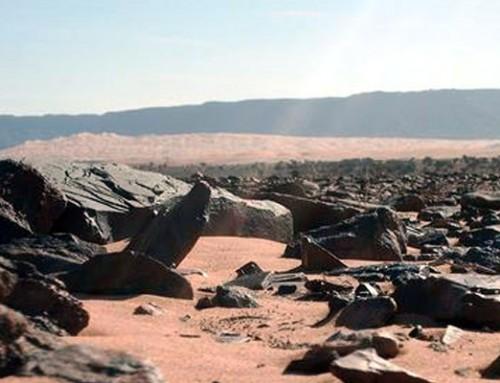 Mauritania in camper