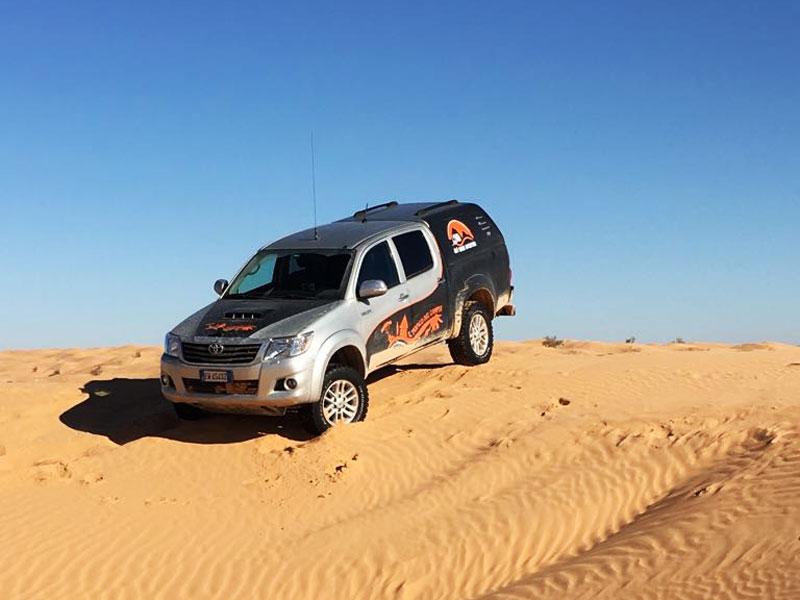 Toyota Hilux Viaggi Avventura Il Tropico del Camper